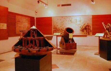 מוזיאונים ברומא: מוזיאון לאונרדו דה וינצ'י (הגאון והמכונות)