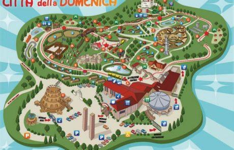 """פרוג'ה (PERUGIA) – פארק שעשועים """"העיר של יום ראשון"""" (Citta della Domenica)"""